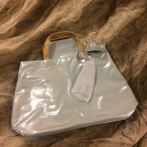 Set of matching Large purse with coin purse